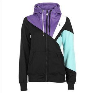 Volcom Gallo Fleece Hooded Full Zip Jacket